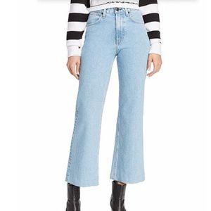 Rag & Bone Womens Wide Leg Ankle Jeans (NWT)